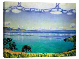 Canvas  Lake Geneva from Chexbres - Ferdinand Hodler