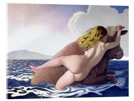 Acrylic print  The Abduction of Europa - Felix Edouard Vallotton