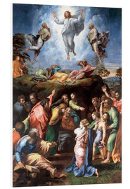 Foam board print  The Transfiguration - Raffael