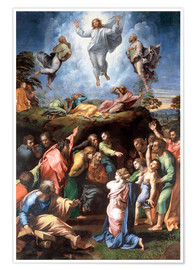 Premium poster  The Transfiguration - Raffael