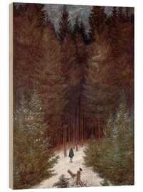 Wood  Chasseur in Forest - Caspar David Friedrich