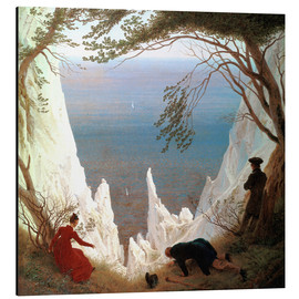 Aluminium print  Chalk Cliffs on Rügen - Caspar David Friedrich