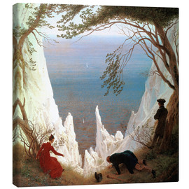 Canvas print  Chalk Cliffs on Rügen - Caspar David Friedrich