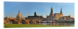 Acrylic print  Dresden Canaletto view - Fine Art Images