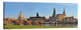 Canvas print  Dresden Canaletto view - FineArt Panorama