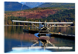 Acrylic glass  Seaplane in Purpoise Bay, Canada - HADYPHOTO by Hady Khandani