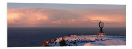 Foam board print  North Cape - Panorama - HADYPHOTO