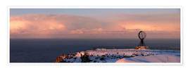 Premium poster  North Cape - Panorama - HADYPHOTO