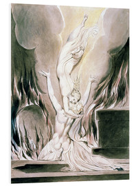 Foam board print  The Reunion of the Soul and the Body - William Blake