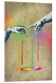 Acrylic print  But deliver us from evil - Angelo Cerantola