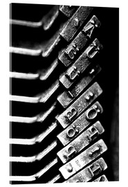 Acrylic print  Typewriters - Falko Follert