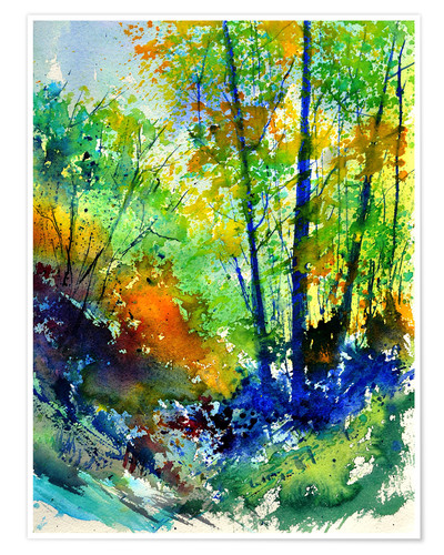 Premium poster Forest idyll