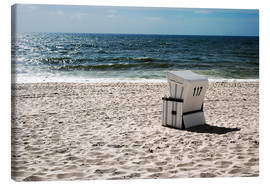Canvas print  Beach chair 117 - Hannes Cmarits