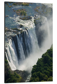Aluminium print  Zambezi River and Victoria Falls - Paul Souders