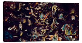 Canvas print  Last Judgement - Hieronymus Bosch