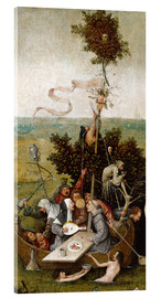 Acrylic print  The ship of fools - Hieronymus Bosch