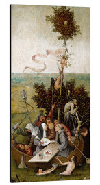 Aluminium print  The ship of fools - Hieronymus Bosch