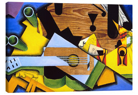Canvas  Still Life with Guitar - Juan Gris
