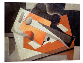 Acrylic print  The guitar - Juan Gris