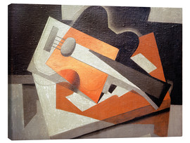 Canvas  The guitar - Juan Gris
