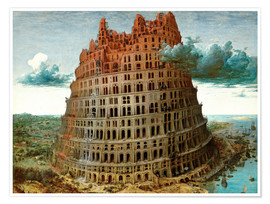Premium poster The Tower of Babel