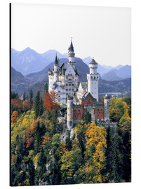Alu-Dibond  Neuschwanstein Castle in autumn - Ric Ergenbright