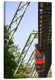 Canvas print  Wuppertal suspension railway - Walter Bibikow