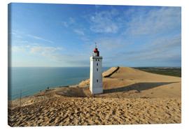 Canvas print  Lighthouse Rubjerg Knude in Denmark - HADYPHOTO