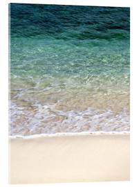 Acrylic print  Beach and blue ocean - Maresa Pryor