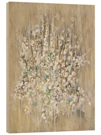 Wood print  Bouquet - Christin Lamade