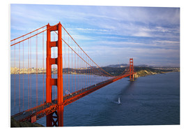 Foam board print  Golden Gate Bridge - Chuck Haney