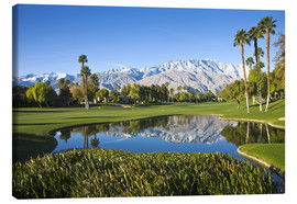 Canvas print  Golf course in Palm Springs - Walter Bibikow