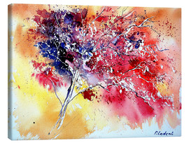 Canvas print  Red tree - Pol Ledent