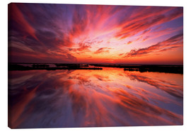 Jay O´Brien - Sunset reflected on the water