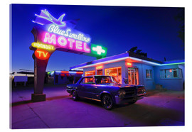 Acrylic print  The famous Blue Swallow Motel - Julien McRoberts