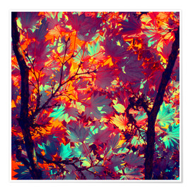 Premium poster autumn tree II