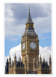 Premium poster  Big Ben and Westminster Palace - David Wall