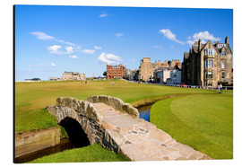 Aluminium print  Golf course in St. Andrews - Bill Bachmann