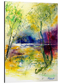 Aluminium print  The glade in the forest - Pol Ledent
