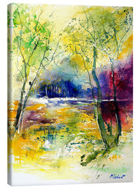 Canvas print  The glade in the forest - Pol Ledent