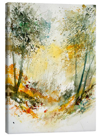 Canvas print  The forest in autumn - Pol Ledent