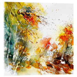 Acrylic print  The wild autumn - Pol Ledent