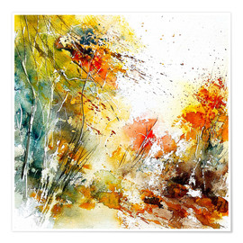 Premium poster  The wild autumn - Pol Ledent
