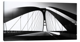 Canvas print  Fehmarnsund Bridge, Germany - Falko Follert