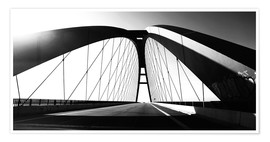 Premium poster  Fehmarnsund Bridge, Germany - Falko Follert