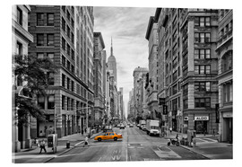 Acrylic print  NEW YORK CITY 5th Avenue - Melanie Viola