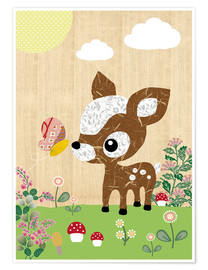 Premium poster  Deery - GreenNest