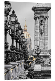 Acrylic glass  Paris pretentious - Joachim G. Pinkawa
