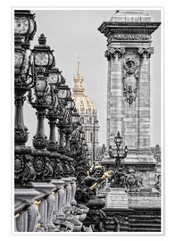 Premium poster Paris pretentious