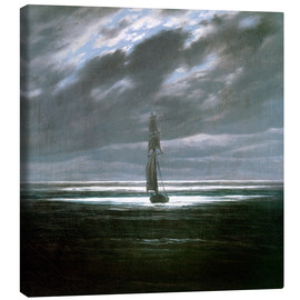 Canvas  Seascape in the Moonlight - Caspar David Friedrich
